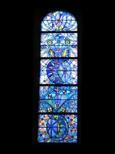 stained glass by jean cocteau