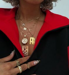 Cute Jewelry, Gold Jewelry, Jewelery, Vintage Jewelry, Nail Jewelry, Piercings, Black Girl Aesthetic, Rings For Girls, Black Girl Fashion