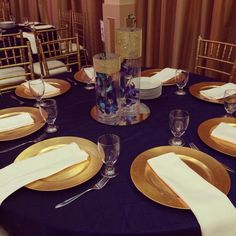 Guest table- Aynsley and Aaron (August 2014)
