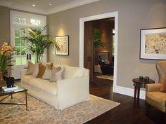 Benjamin Moore Bennington Gray | Living Area decor | Pinterest