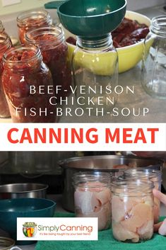 Canning Meat Create Shelf Stable Food For Emergencies Or - Canning Meat Step By Step Directions A Fantastic Way To Create Shelf Stable Proteins For Emergencies And Quick Meals Find Recipes Safety Information And Ideas At Simplycanning Com Pressure Canning Recipes, Home Canning Recipes, Pressure Cooker Recipes, Canning Tips, Pressure Cooking, Quick Meals To Make, Easy Meals, Canning Venison, Canning Food Preservation