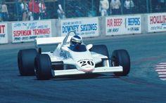 Keke Rosberg, Fittipaldi F8c, GP dos EUA, Long Beach 1981.