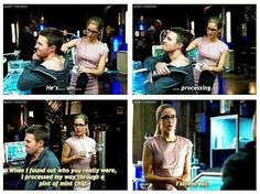 Arrow - Oliver & Felicity = me too, Felicity. Arrow Funny, Arrow Memes, Arrow Cast, Arrow Tv, Arrow Quote, Supergirl Dc, Supergirl And Flash, Arrow Oliver And Felicity, Felicity Smoak