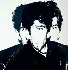 Andy Warhol, Robert Mapplethorpe, 1983, Acrilyc and silkscreen ink on canvas, 40 x 40 in