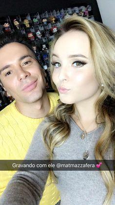 Larissa Manoela via Snapchat (larissamanoella)