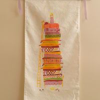 make your own princess and the pea wall hanging! | Heather Ross Prints | STC Craft/ Melanie Falick Books