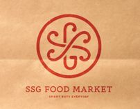 SSG Food Market by Mucca , via Behance