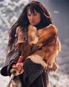 Xena in her Destroyer of Nations days
