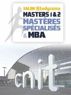 Salon Studyrama des Masters, MS et MBA | Defacto - Quartier d'affaires de la Défense