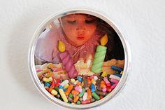 LOVE!!! Mini Shadow Box Fridge Magnets Crafts Unleashed