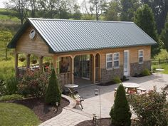 Image result for small pole barn homes
