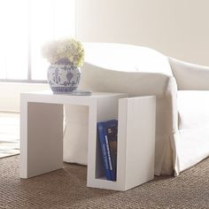 """529 20""""w x 17""""d x 27""""h S Side Table"""