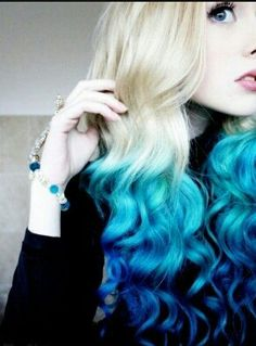 Love the blue ombre