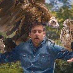 Verizon More Birds Commercial