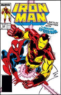 Iron Man Comic Books, Marvel Comic Books, Comic Book Heroes, Comic Books Art, Book Art, Tony Stark, Iron Man Art, Man Thing Marvel, Classic Comics