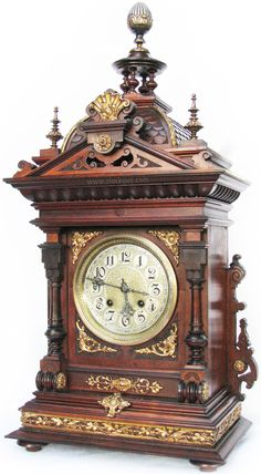 Gustav Becker Ornamental Bracket Clock ~ Antique Clocks Guy