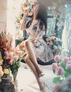 短袖洋裝 | 『Milkcocoa 正韓代購 官網驗證』唯美優雅印花洋裝-MISS MISA | Yahoo拍賣