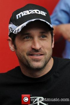 Patrick Dempsey | Patrick Dempsey signs autographs prior to the Rolex 24 hours ...