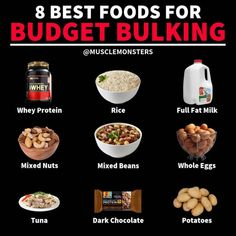 Muscle Food Meals Nutrition - Muscle food meals _ muscle food recipes, muscle food women, muscle food me - Muscle Food, Food To Gain Muscle, Build Muscle, Muscle Fitness, Vegan Muscle, Men's Fitness, Muscle Building Foods, Fitness Motivation, Sport Nutrition
