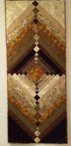 Log Cabin Quilts · MATIN LUMINEUX  Quilts Braid Quilt, Strip Quilts, Patch  Quilt, Quilt Blocks, 3a11bc5f3646