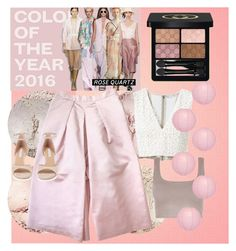 """""""Rose Quartz...2016 Pantone Color Of The Year"""" by onesweetthing on Polyvore featuring Alice + Olivia, Gucci, Cultural Intrigue, Etrala London and Diane Von Furstenberg"""