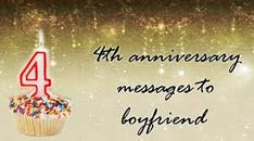 Romantic Anniversary Wishes Messages For Boyfriend From Beloved Girlfriend - Wedding Anniversary Wishes Messages Anniversary Message To Boyfriend, Anniversary Wishes Message, Wedding Anniversary Wishes, Message For Boyfriend, Romantic Anniversary, Love Boyfriend, 4th Anniversary, Birthday Love, Daughter Of God