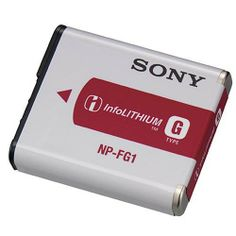 Sony NP-FG1 Rechargeable Lithium-Ion Battery Pack for Select Digital Cameras $15.95