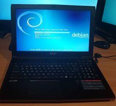 Installant el Sistema Operatiu Universal  #MSI #GP62 2QE #Leopard Pro #LeopardPro S.O.: #Debian 8 #Jessie #GNU/Linux #KDE #Linux by idrojet
