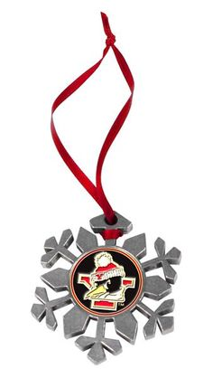 Youngstown State Penguins Snow Flake Ornament