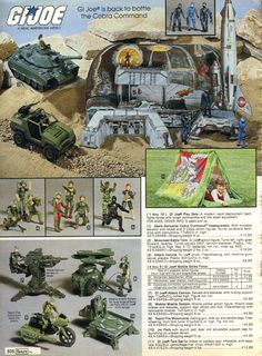 Sears Wishbook: G.I. Joe