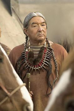 A film actor who has found success in both Canada and the United States, Graham Greene is a full-blood Oneida, born on the Six Nations Reserve in southwestern Ontario in 1952. http://bit.ly/KWl6ev [Graham Greene as Conquering Bear in Into the West]