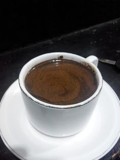 Tobruk coffee with cloves boiled water