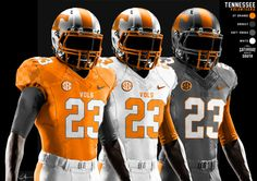 Tennessee Volunteers Football nike Uniforms | vols make the switch to nike in 2015