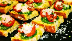 #vegetarian tapas with a twist of #pesto #cherrytomatos