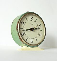 How about a non-working clock, dressed up and displaying the time a baby was born or a wedding took place?