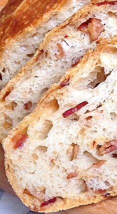 Ideas breakfast casserole recipes bacon bread for 2019 Bacon Recipes, Casserole Recipes, Bread Recipes, Bacon Bread Recipe, Fresh Bread, Sweet Bread, Muffins, Scones, Breakfast Sandwich Recipes