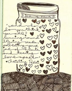 jar of hearts..........is my fave song at mo.................so gonna do a page based on this!