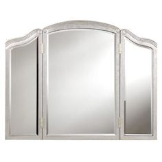 Check out this item at One Kings Lane! Camille Fold Mirror, Silver