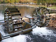 Water Wheel - Tuscumbia, Alabama Spring Park