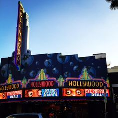 Guinness World Records Museum along Hollywood Boulevard. Two doors down, one…
