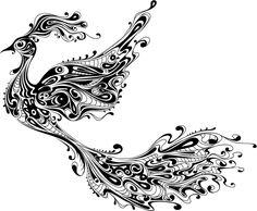 dibujos de plumas para tatuar - Buscar con Google