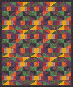 Pieced lap and throw. Bryce Canyon Trails Quilt Pattern PS-945 by Purrfect Spots - Nan Baker.  Check out our applique quilt patterns. https://www.pinterest.com/quiltwomancom/applique-quilt-patterns/  Subscribe to our mailing list for updates on new patterns and sales! https://visitor.constantcontact.com/manage/optin?v=001nInsvTYVCuDEFMt6NnF5AZm5OdNtzij2ua4k-qgFIzX6B22GyGeBWSrTG2Of_W0RDlB-QaVpNqTrhbz9y39jbLrD2dlEPkoHf_P3E6E5nBNVQNAEUs-xVA%3D%3D