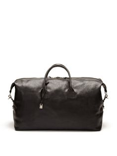 Large Leather Duffle by John Varvatos Accessories     love this!!!!!
