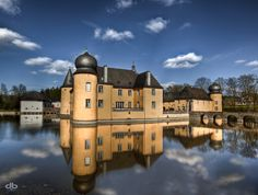 Water castle Gudenau Germany