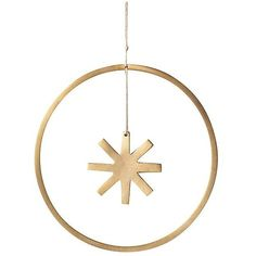 Ferm Living Winterland Brass Star Ornament - Small ($29) ❤ liked on Polyvore featuring home, home decor, holiday decorations, brass, star ornaments, holiday home decor, home wall decor, holiday ornament and holiday decor
