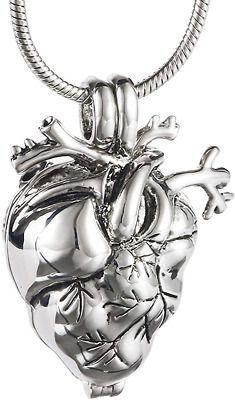 Classic Owl Shape Cremation Cylinder Filled Ashes Pendant Souvenir Necklace