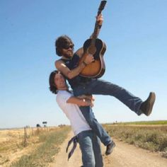 Seth & Scott Avett. Not only are they talented songwriters and musicians, they seem like to coolest people ever.