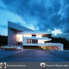 """62 Me gusta, 1 comentarios - Bastos & Duarte Arquitetos (@bastoseduarte) en Instagram: """"Hoje, vamos com 03 residenciais fantásticos. Segundo, por Creato Arquitectos, Casa La Pradera.…"""""""