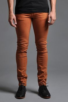 Dr Denim Snap Jeans Rusty Red