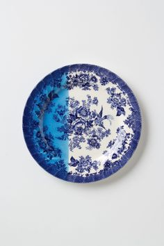 Dipped Toile Dessert Plate